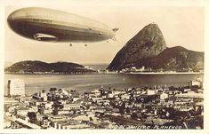 Por André Araújo 80 ANOS DO DIRIGÍVEL HINDENBURG NO RIO DE JANEIRO - Em 31 de março de 1936, o navio aéreo HINDENBURG, fabricado pela Zeppelin, chegava ao Rio de Janeiro, um das suas 7 viagens ao Bra