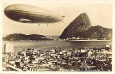 Os 80 anos da visita do dirigível Hindenburg ao Rio de Janeiro | GGN                                                                                                                                                                                 Mais