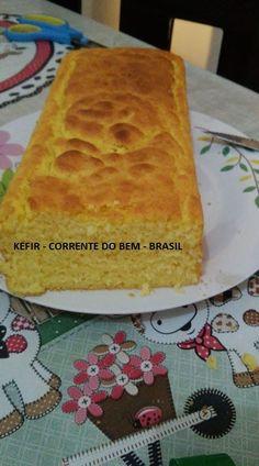 PÃO DE CENOURA COM KEFIR DE LEITE SEM GLÚTEN