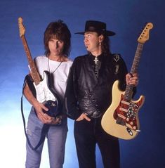 Two my all time favorite guitarists!