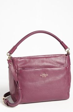 kate spade new york 'cobble hill - little curtis' leather crossbody bag available at #Nordstrom