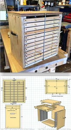 Tool Storage System Plans - Workshop Solutions Projects, Tips and Tricks | WoodArchivist.com | WoodArchivist.com #woodworkingbench