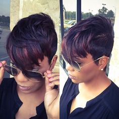 Short Inclined Bang Straight Colormix Synthetic Wig