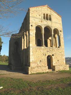 SANTA MARÍA DEL NARANCO Estilo: Asturiano/Ramiro I Época: Siglo IX Estado de conservación: Muy bueno Situación: Oviedo