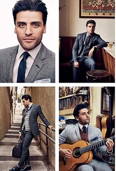 Oscar Isaac - GQ 2016. Good lord, it's almost not right for someone to be this attractive.