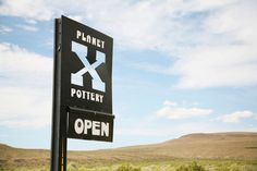 A unique solar-powered pottery studio and gallery in the desert.