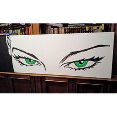 Quadro occhi di Eva Kant