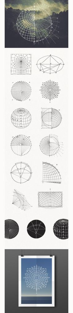 Free 15 Mathematical Geography Vectors