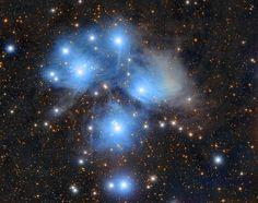 Pleiadi,Sette Sorelle,Ammasso aperto