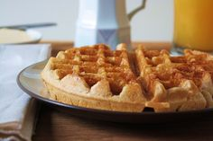 Buttermilk Belgian Waffles just like Mom made 'em—except vegan and gluten-free!