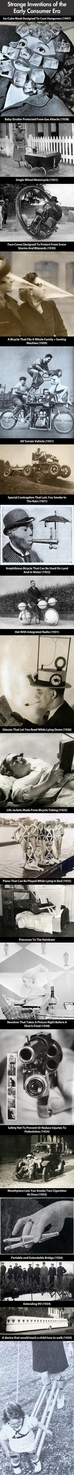 Some of the strangest inventions of all time