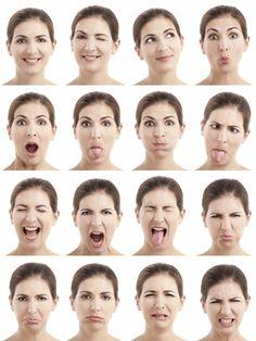 expresiones faciales - Buscar con Google                                                                                                                                                                                 Más                                                                                                                                                                                 Más