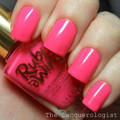 Summer Polishes from Ruby Wing and Color Club: Swatches and Review! • Casual Contrast