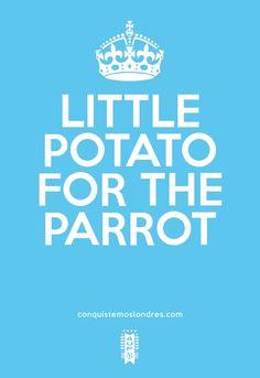 LITTLE POTATO FOR THE PARROT