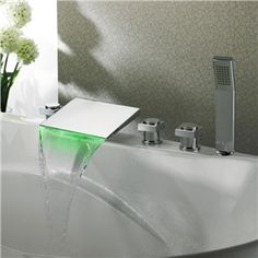 Self Powered 5 Pieces LED Waterfall Bathtub Shower Faucets With Chrome Plated - See more at: http://www.homelava.com/en-self-powered-5-pieces-led-waterfall-bathtub-shower-faucets-with-chrome-plated-p22458.htm#sthash.UHtXlbFM.dpuf