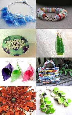 #Recycled plastic!