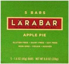 Paleo Pregnancy Treat: LARABAR Fruit & Nut Food Bar, Apple Pie, Gluten Free