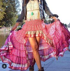 Store Free Falda Ibiza Hippies – Online Hippie Tienda Love Trendy Faldas AwB58Pwq