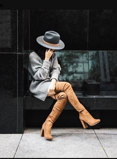 659196aad30 We all covet a great over-the-knee boot. Treat yourself a pair of Areaviel.
