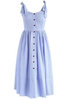 Dashing Darling Cami Dress in Blue Gingham- New Arrivals - Retro, Indie and Unique Fashion Dresses For Teens, Simple Dresses, Day Dresses, Cute Dresses, Casual Dresses, Fashion Dresses, Summer Dresses, Unique Fashion, Look Fashion