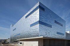 Aluminium Fassade Spreitenbach.     #architecture #aluminium
