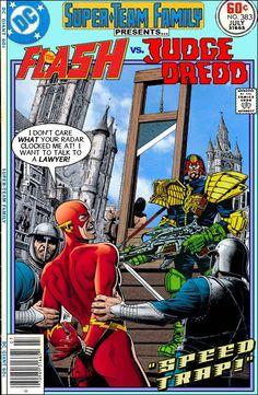 The Flash Vs. Judge Dredd - Super-Team Family: The Lost Issues!