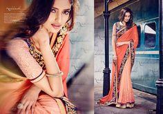 Sari Ethnic Partywear Indian Designer Wedding Bollywood Saree Pakistani New 2046…