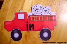 Prepositions can be difficult for children with speech delays to grasp. Check out this ADORABLE and FREE fire truck prepositions activity from Alcorn of Crazy Speech World on Preposition Activities, Speech Therapy Activities, Speech Language Pathology, Language Activities, Speech And Language, Therapy Games, Work Activities, Therapy Ideas, Classroom Activities