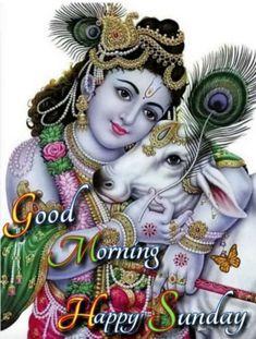 Good Morning Beautiful Pictures, Good Morning Images Flowers, Cute Good Morning, Good Morning Picture, Beautiful Gif, Morning Pictures, Radha Krishna Photo, Krishna Photos, Krishna Art