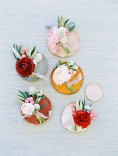 Rose boutonnieres: http://www.stylemepretty.com/2017/02/13/blending-culture-and-tradition-in-the-prettiest-of-ways/ Photography: Becca Lea - http://beccalea.com/