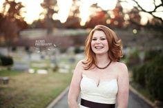 Bridal session, Old Salem NC