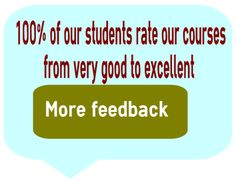 We get excellent feedback! All our students rate our course from very good to excellent! Students, Learning, Studying, Teaching, Onderwijs