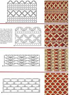 SOLO PUNTOS: Crochet puntos calados
