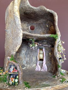 Tutorial: Fairy House Tree Pt. 13 | Torisaurs Sketch Book @ www.torisaur.com