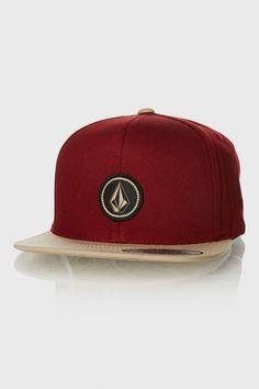 091c9a678f1 Volcom Quarter Snapback Hat - Caps