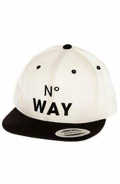 7bcab6df No Way Snapback Looking Back, No Way, Streetwear Fashion, Snapback, Street  Wear