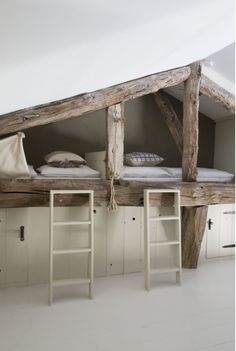 Welcome to Bassiviere Barn Chic! We have renovated our century Perigord farmhouse plus outer buildings into 5 luxury Sleeping Nook, Small Luxury Hotels, Attic Bedrooms, Attic Renovation, Boutique Homes, Bedroom Decor, Kids Bedroom, House Design, Interior Design