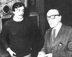 Luca De Filippo col padre