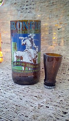 Ironfire Brewery Dead On Arrival Shot Glass & Chaser by LightFinish on Etsy