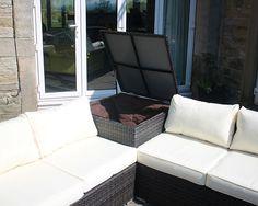 390 20 pcs medium rattan lounge set outdoor garden sofa wit