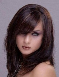 Shoulder length with bangs: thinking about cutting my bangs...