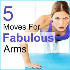Here are five great exercises that work multiple arm muscles in one move, meaning you get more done in less time!