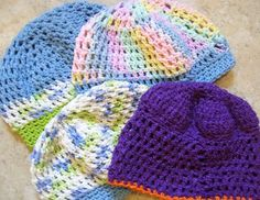 Adult Cancer Cap Patterns | patterns for chemo caps posted by admin under my patterns