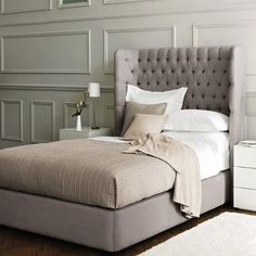 What a stylish bed! - A great website with some beautiful ideas.