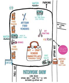 Get yourself ready for some fun at Patchwork Long Beach  Sunday, 11-5 Bayshore@Appian Way