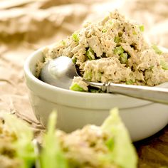 The perfect low carb tuna salad recipe. Loaded with freshness, packed with flavor and perfect for lunch.