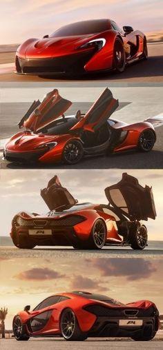 McLaren P1- 903 BHP Top Speed 217 MPH