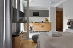 Gallery  Stradonia - elegant apartments in Krakow city   Stradonia  #furnished #kitchen #studio #design #bedroom