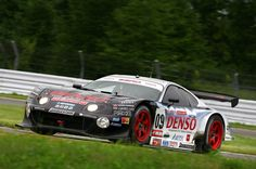 The Denso SARD Toyota Supra HV-R was the first-ever hybrid race car