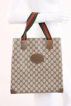 213cc651a40cdf Vintage Gucci GG Supreme Tote Bag at Rice and Beans Vintage Vintage Gucci,  Gucci Handbags